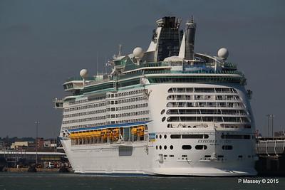 EXPLORER OF THE SEAS Southampton 22 Apr 2015 22-04-2015 15-29-35