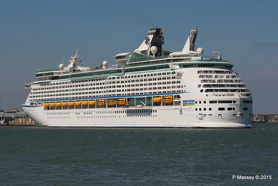 EXPLORER OF THE SEAS Arriving Southampton PDM 22-04-2015 15-20-18