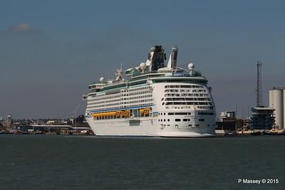 EXPLORER OF THE SEAS Arriving Southampton PDM 22-04-2015 15-22-47