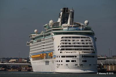 EXPLORER OF THE SEAS Southampton 22 Apr 2015 22-04-2015 15-27-02