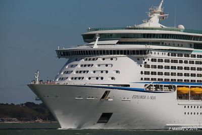 EXPLORER OF THE SEAS Arriving Southampton PDM 22-04-2015 15-13-19