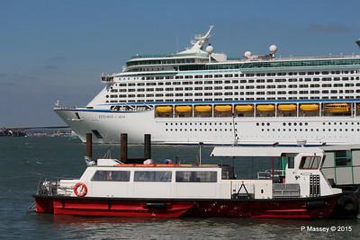 EXPLORER OF THE SEAS Passing URIAH HEEP Southampton PDM 22-04-2015 15-17-52