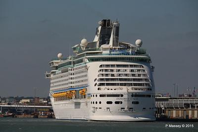 EXPLORER OF THE SEAS Southampton 22 Apr 2015 22-04-2015 15-26-57