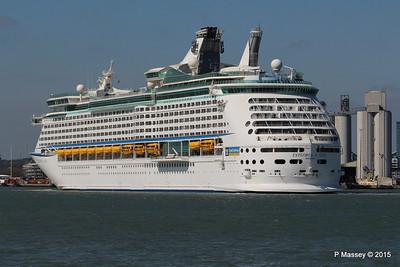 EXPLORER OF THE SEAS Arriving Southampton PDM 22-04-2015 15-21-24