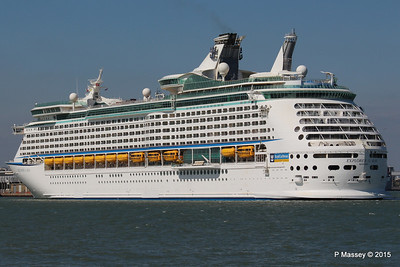 EXPLORER OF THE SEAS Arriving Southampton PDM 22-04-2015 15-20-25