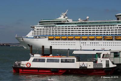 EXPLORER OF THE SEAS Passing URIAH HEEP Southampton PDM 22-04-2015 15-17-55