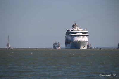 EXPLORER OF THE SEAS Arriving Southampton PDM 22-04-2015 15-07-38