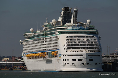 EXPLORER OF THE SEAS Southampton 22 Apr 2015 22-04-2015 15-29-037