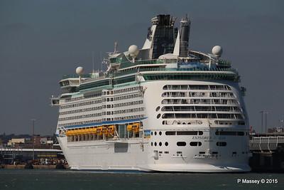 EXPLORER OF THE SEAS Southampton 22 Apr 2015 22-04-2015 15-29-039
