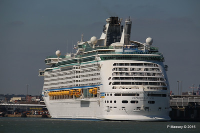EXPLORER OF THE SEAS Southampton 22 Apr 2015 22-04-2015 15-29-035