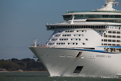 EXPLORER OF THE SEAS Arriving Southampton PDM 22-04-2015 15-13-14