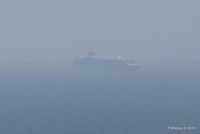 Very Distant HARMONY OF THE SEAS from Blackgang IOW PDM 16-05-2016 13-18-028