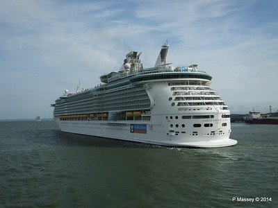 12 Jul 2014 IOTS Departing Southampton