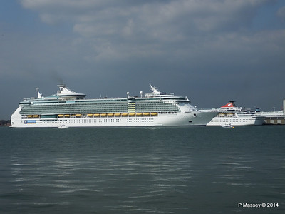 BALMORAL INDEPENDENCE OF THE SEAS Southampton PDM 17-05-2014 17-01-06