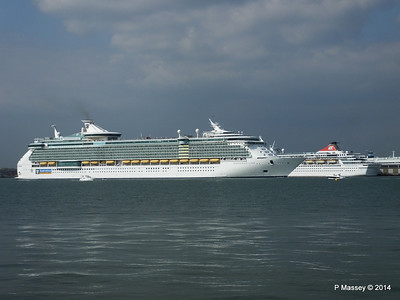 BALMORAL INDEPENDENCE OF THE SEAS Southampton PDM 17-05-2014 17-01-03