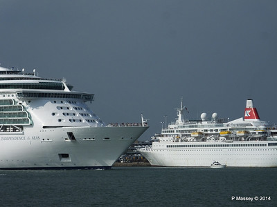 BLACK WATCH INDEPENDENCE OF THE SEAS Southampton PDM 17-05-2014 17-00-00