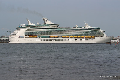 NAVIGATOR OF THE SEAS Departing Southampton PDM 06-06-2016 16-34-37
