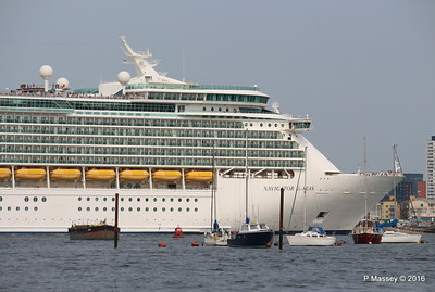 NAVIGATOR OF THE SEAS Departing Southampton PDM 06-06-2016 16-35-59
