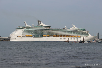 NAVIGATOR OF THE SEAS Departing Southampton PDM 06-06-2016 16-36-07