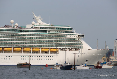 NAVIGATOR OF THE SEAS Departing Southampton PDM 06-06-2016 16-36-00
