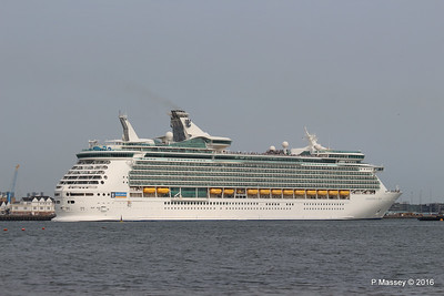 NAVIGATOR OF THE SEAS Departing Southampton PDM 06-06-2016 16-39-23