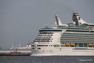NAVIGATOR OF THE SEAS Departing ASTORIA Southampton PDM 06-06-2016 16-39-50