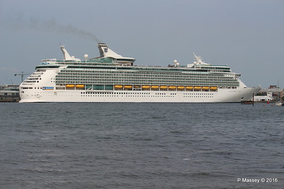 NAVIGATOR OF THE SEAS Departing Southampton PDM 06-06-2016 16-34-39