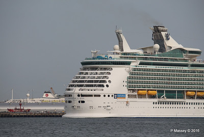 NAVIGATOR OF THE SEAS Departing ASTORIA Southampton PDM 06-06-2016 16-39-53