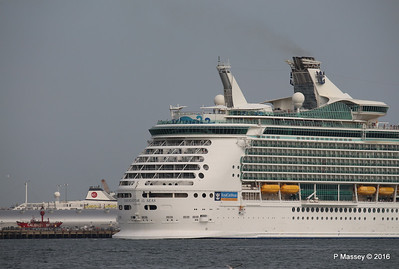 NAVIGATOR OF THE SEAS Departing ASTORIA Southampton PDM 06-06-2016 16-39-51