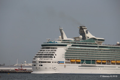 NAVIGATOR OF THE SEAS Departing Just in View ASTORIA Southampton PDM 06-06-2016 16-39-47