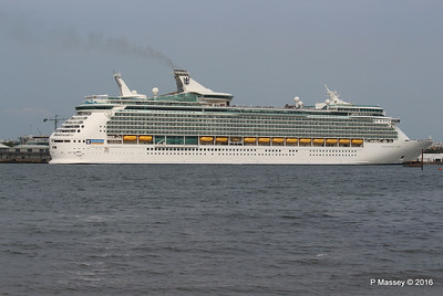 NAVIGATOR OF THE SEAS Departing Southampton PDM 06-06-2016 16-34-36