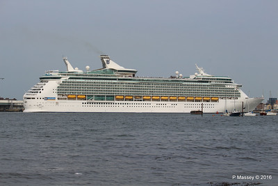 NAVIGATOR OF THE SEAS Departing Southampton PDM 06-06-2016 16-35-51