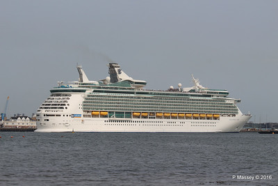 NAVIGATOR OF THE SEAS Departing Southampton PDM 06-06-2016 16-39-25