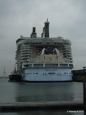 OASIS OF THE SEAS Southampton PDM 15-10-2014 13-53-03