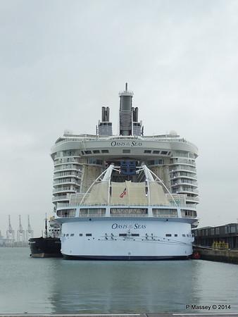 OASIS OF THE SEAS Southampton PDM 15-10-2014 13-53-43