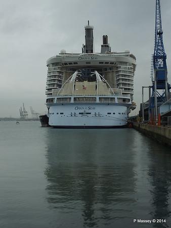 OASIS OF THE SEAS Southampton PDM 15-10-2014 13-54-47