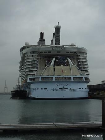 OASIS OF THE SEAS Southampton PDM 15-10-2014 13-53-005