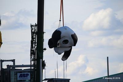 OVATION OF THE SEAS Raising Panda Southampton PDM 12-04-2016 15-14-25