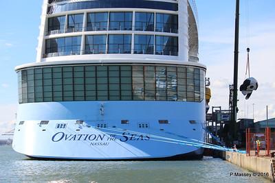 OVATION OF THE SEAS Raising Panda Southampton PDM 12-04-2016 15-14-52