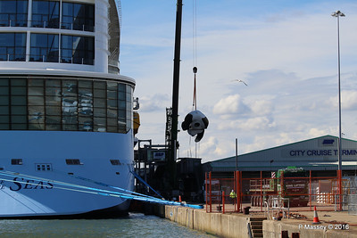 OVATION OF THE SEAS Raising Panda Southampton PDM 12-04-2016 15-14-21