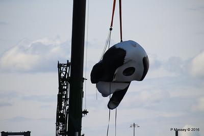 OVATION OF THE SEAS Raising Panda Southampton PDM 12-04-2016 15-14-45