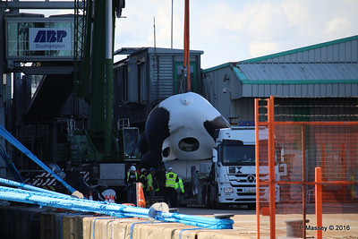 OVATION OF THE SEAS Raising Panda Southampton PDM 12-04-2016 15-11-16