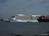 QUANTUM OF THE SEAS ULSAN EXPRESS Southampton PDM 31-10-2014 12-05-057