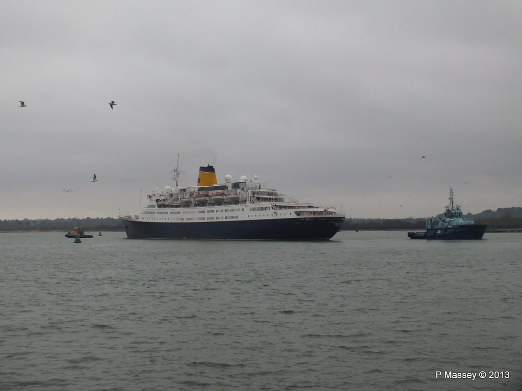 SAGA RUBY under tow Southampton PDM 08-01-2013 15-24-02