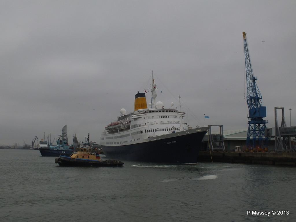 SAGA RUBY under tow Southampton PDM 08-01-2013 15-13-57