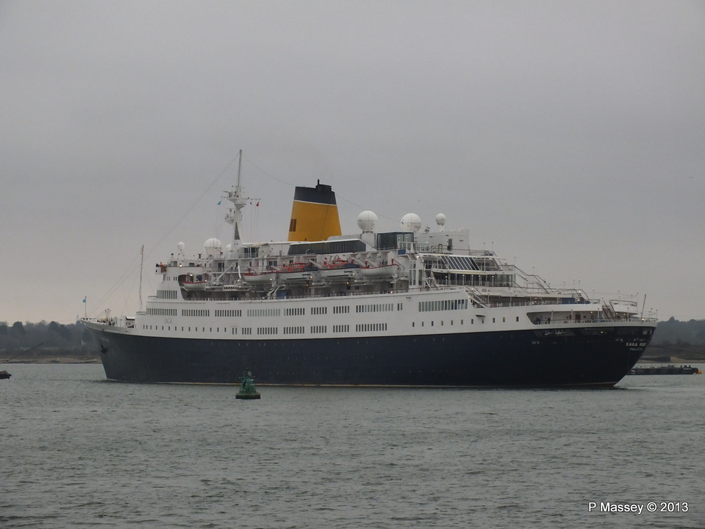 SAGA RUBY under tow Southampton PDM 08-01-2013 15-24-54