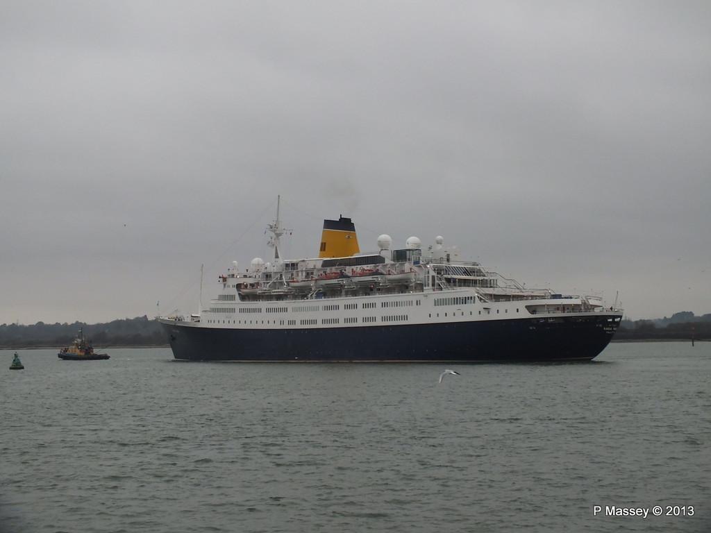 SAGA RUBY under tow Southampton PDM 08-01-2013 15-23-44