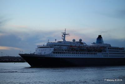 SAGA SAPPHIRE Departing Southampton PDM 10-01-2016 16-21-21