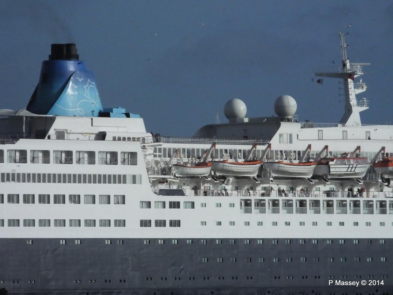 SAGA SAPPHIRE Departing Southampton PDM 07-01-2014 12-20-19