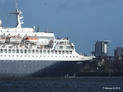 SAGA SAPPHIRE Departing Southampton PDM 07-01-2014 12-19-12